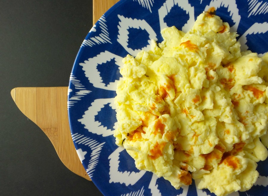 texas buttermilk scrambled eggs hot sauce