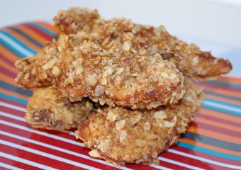 Tortilla Chip Crusted Fried Chicken