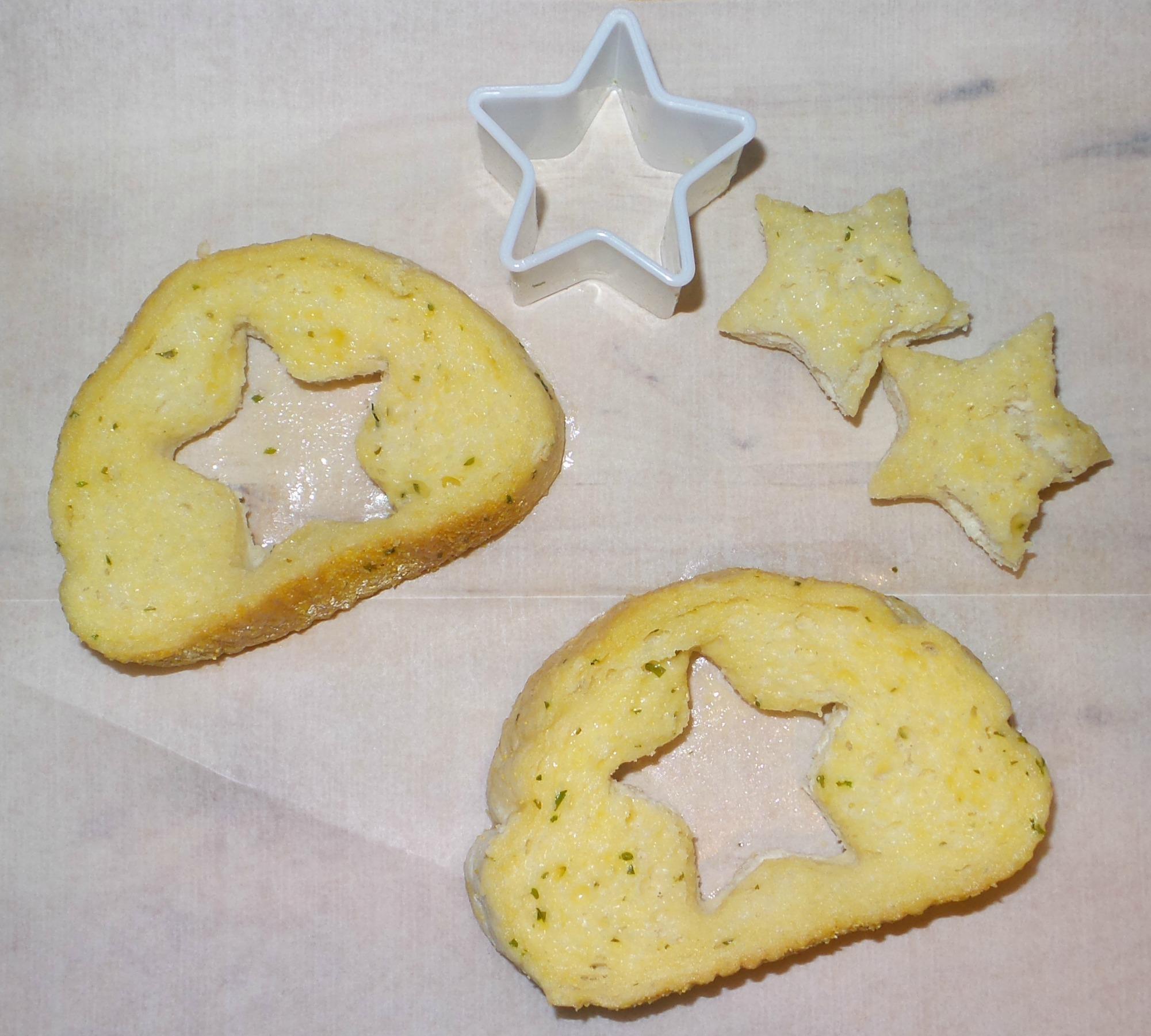 garlic bread cut outs
