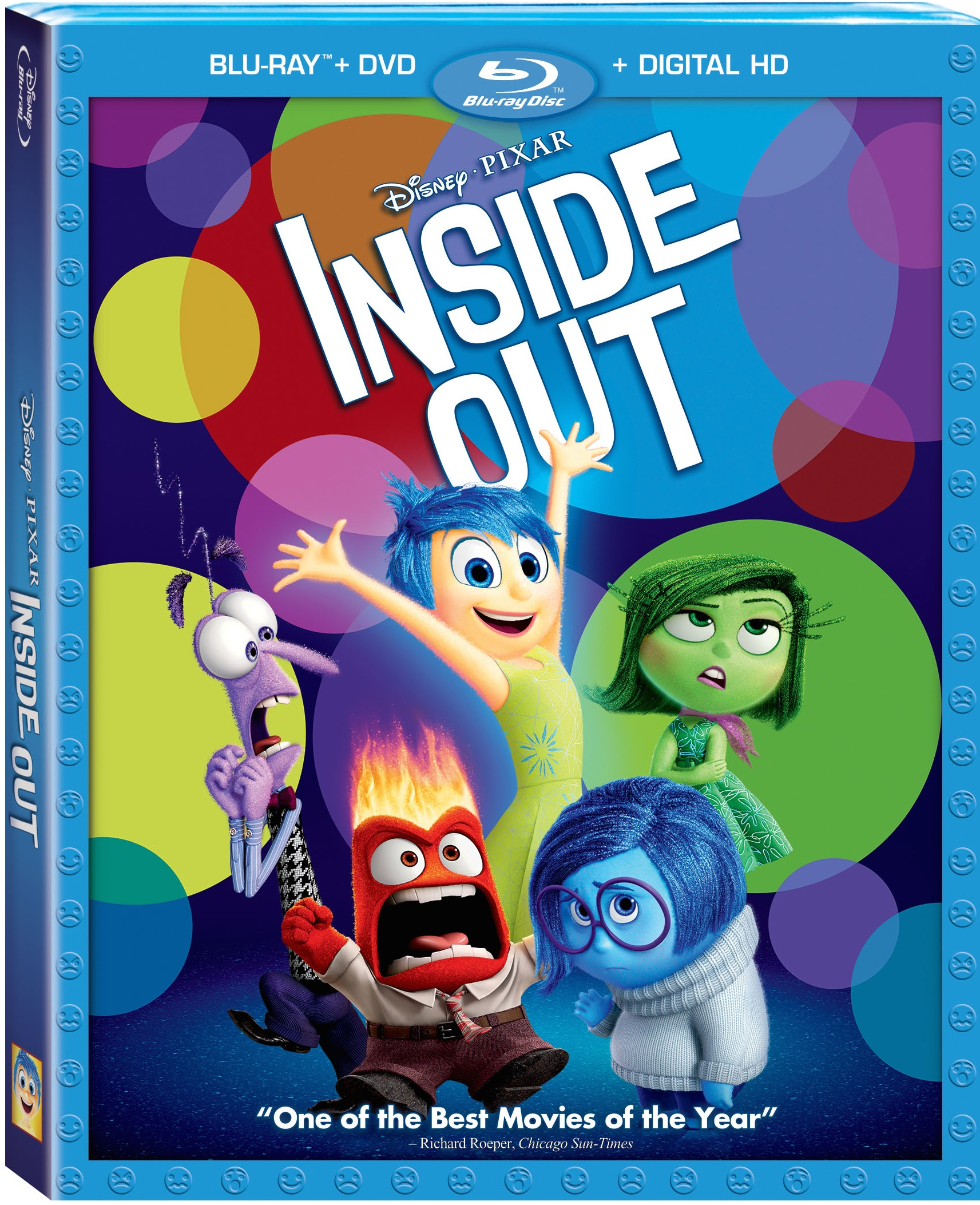 Inside Out Blu Ray Combo Pack