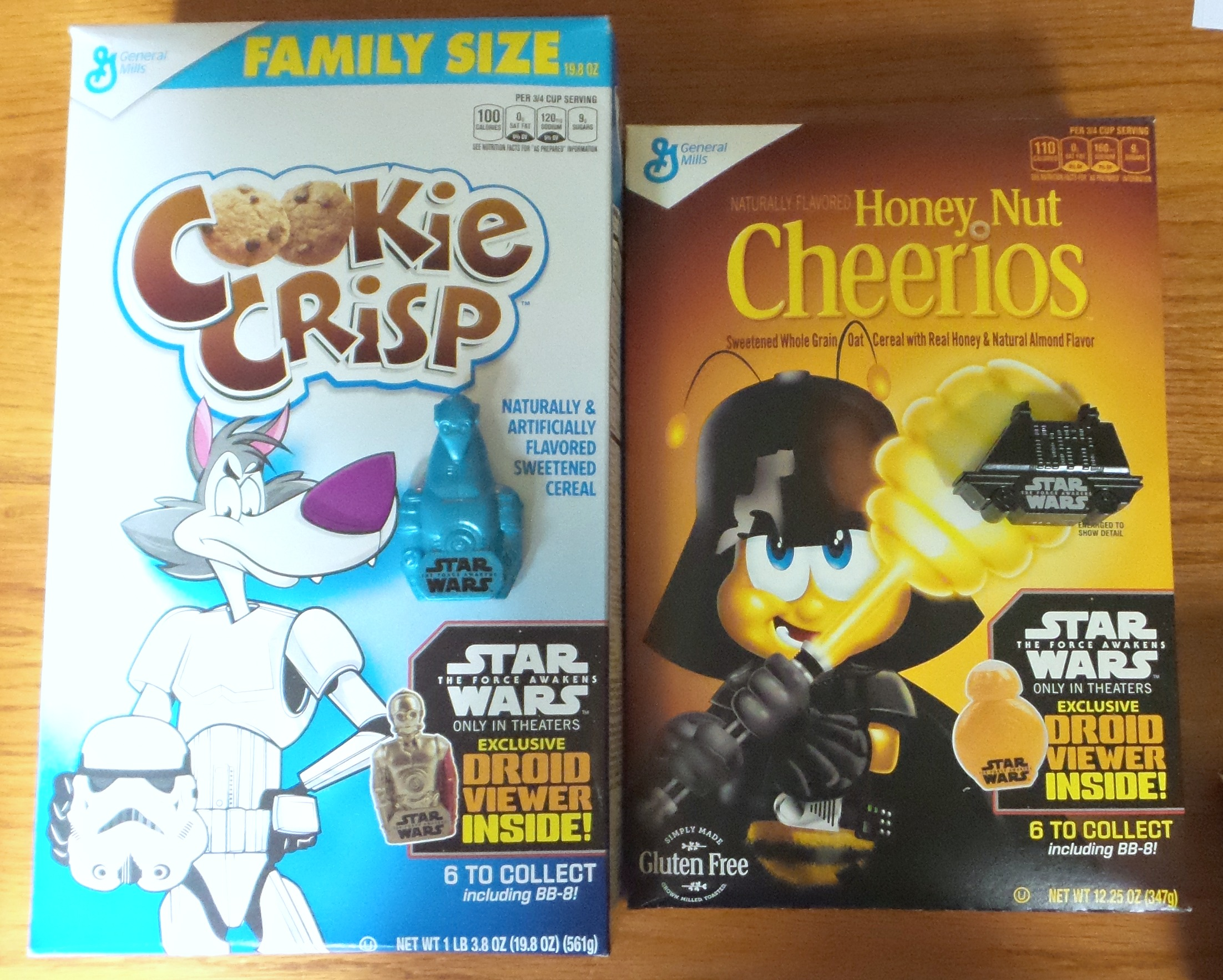 general mills cereal toys star wars