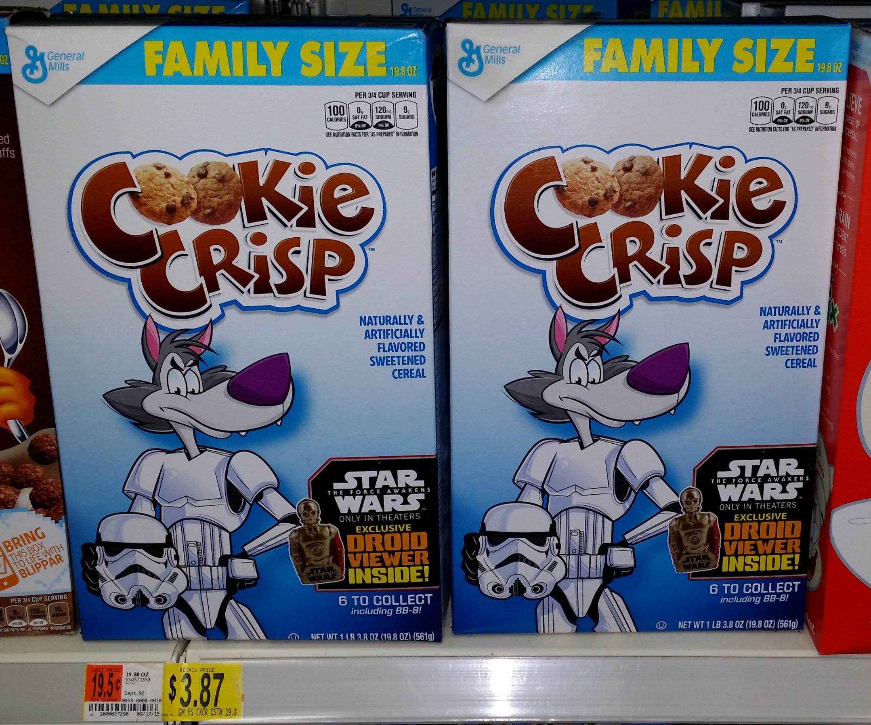 star wars cookie crisp