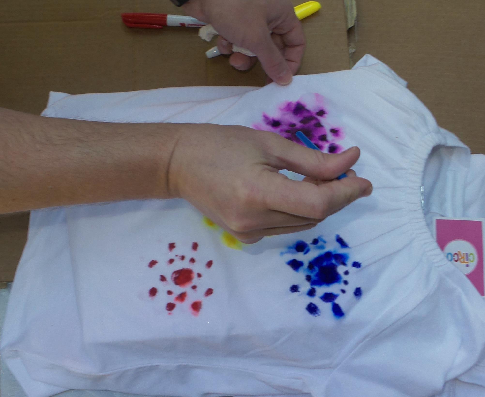 tie dye shirt step 6