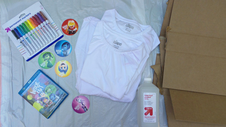 tie dye shirt supplies target