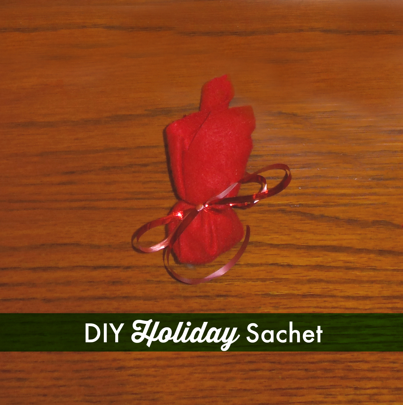 diy holiday sachet