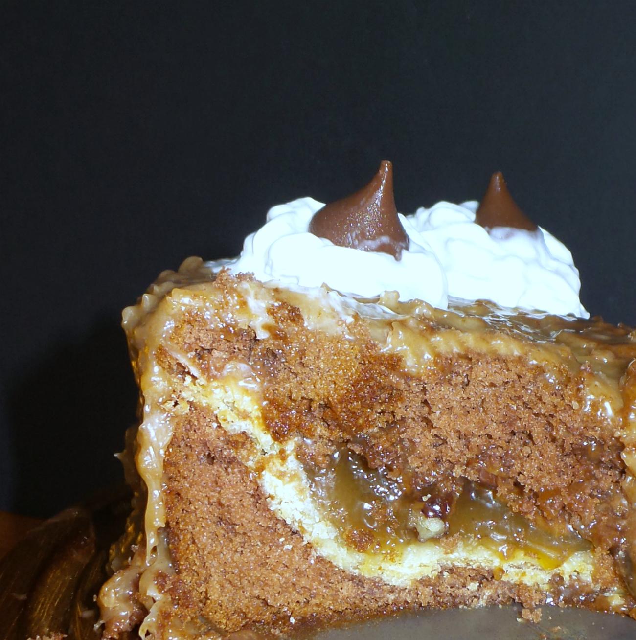 german chocolate piecaken slice final