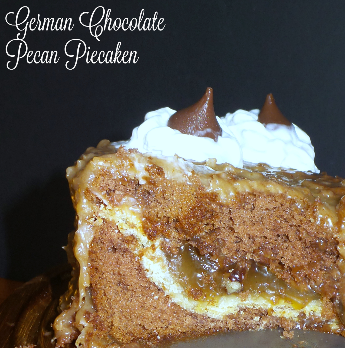 German Chocolate Pecan Piecaken - Family Fun Journal