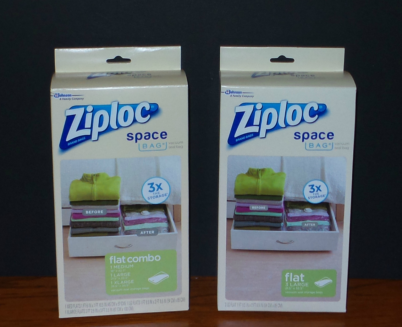 ziploc space bags lowes