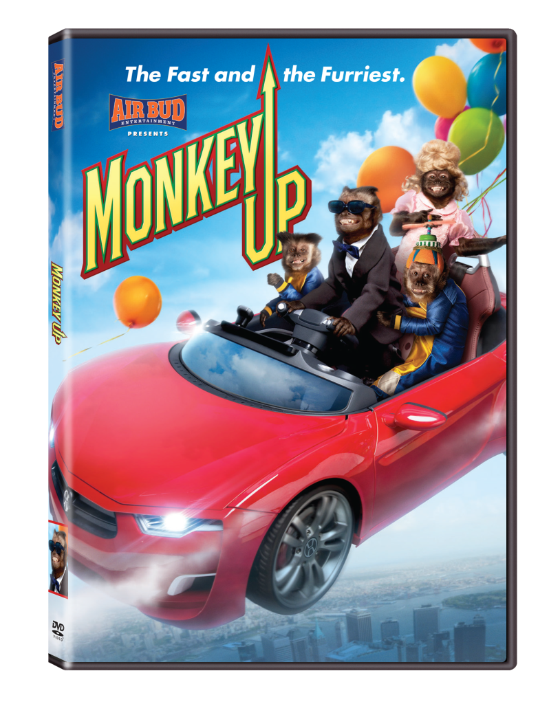 monkey up dvd