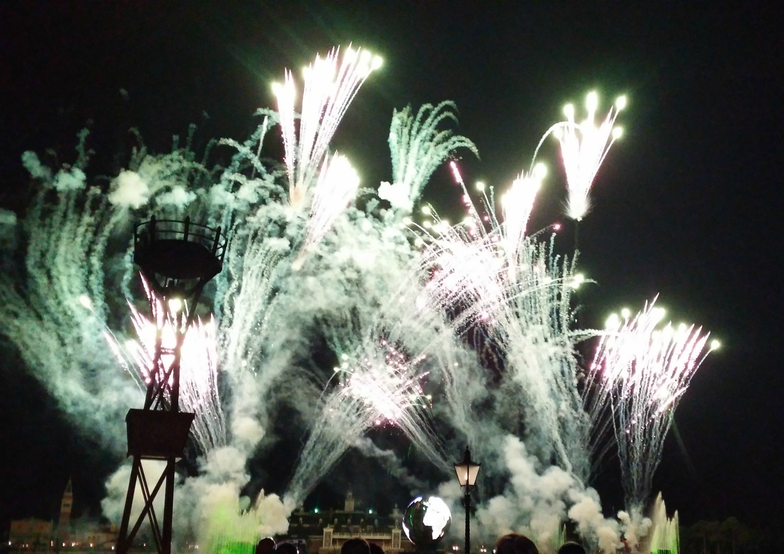 IllumiNations at Epcot.