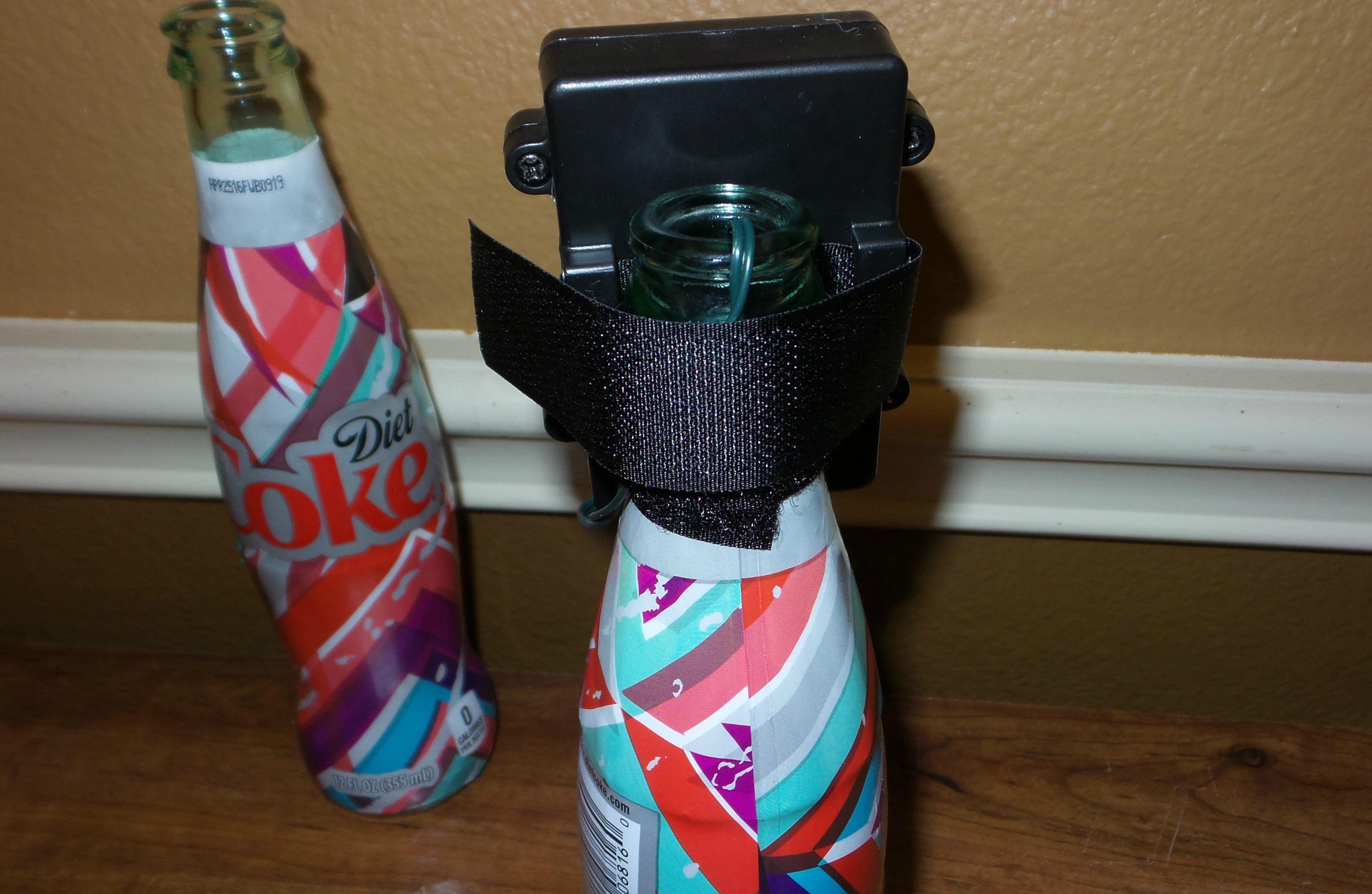 coke bottle lamp step 2
