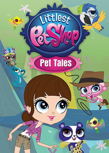littlest pet shop pet tales dvd