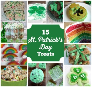 15 Fun & Festive St Patricks Day Treats