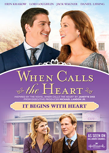 when calls the heart it begins with the heart dvd