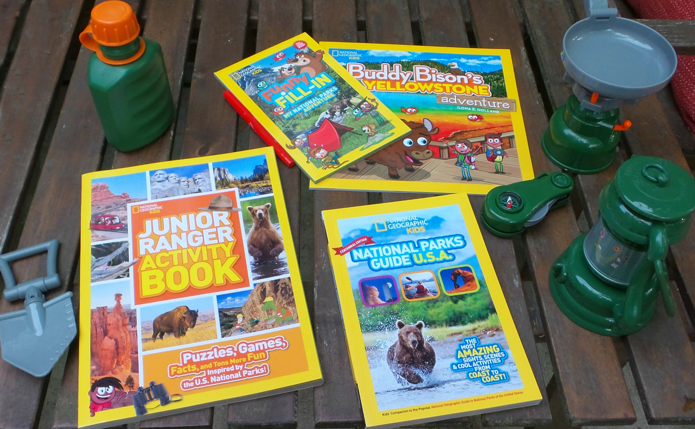 national geographic parks books