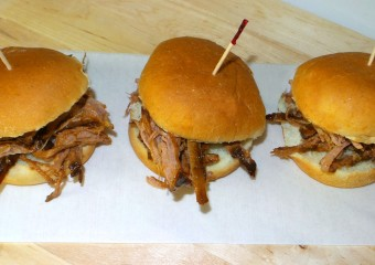 Pulled Pork Barbecue Sliders