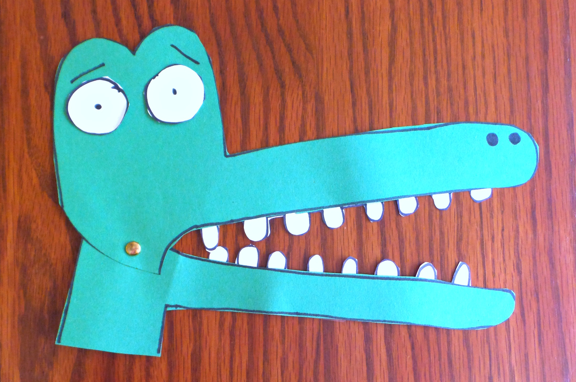 snappsy the alligator craft