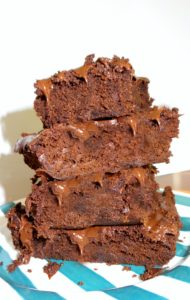 Double Chocolate Espresso Microwave Brownies