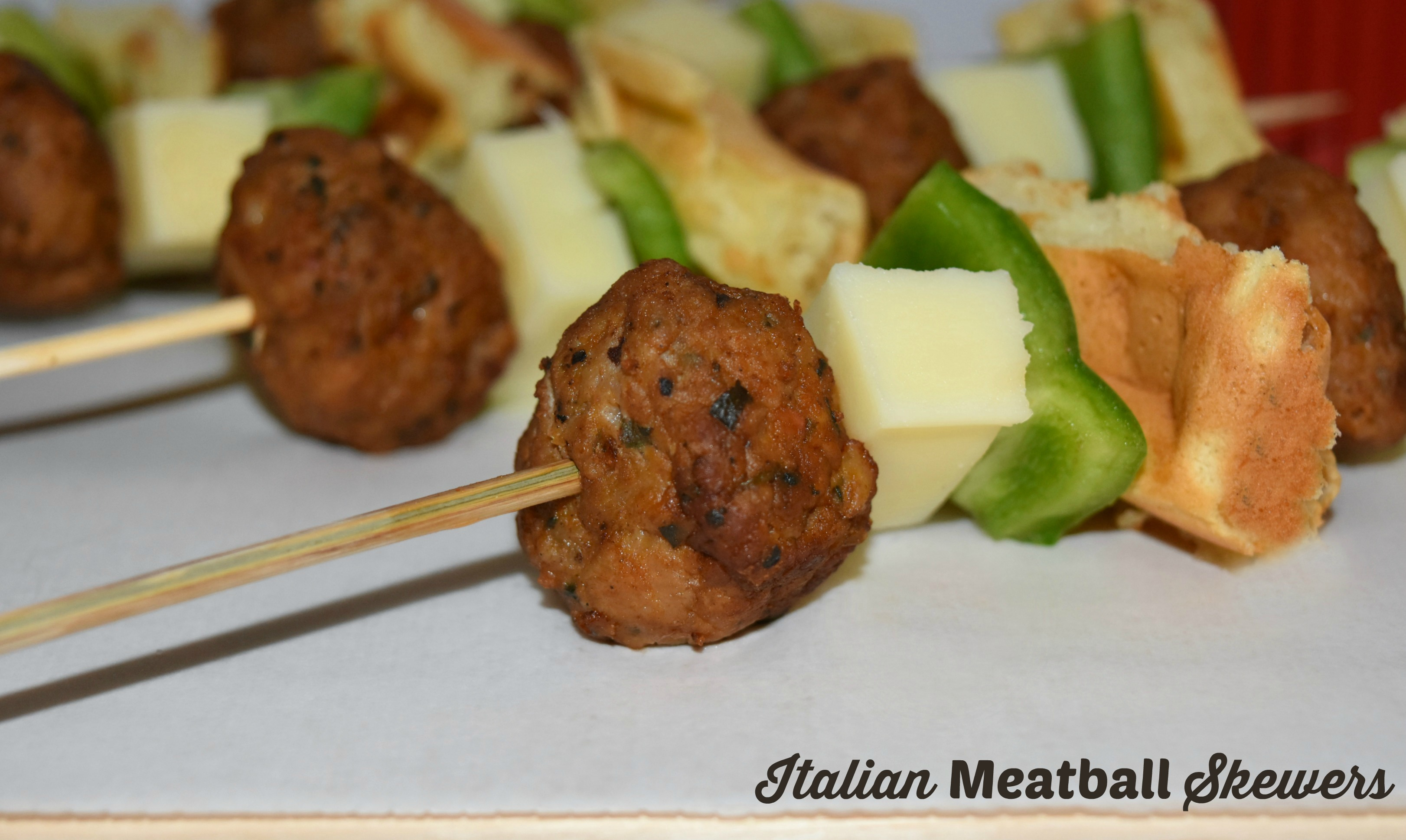 meatball skewer hero