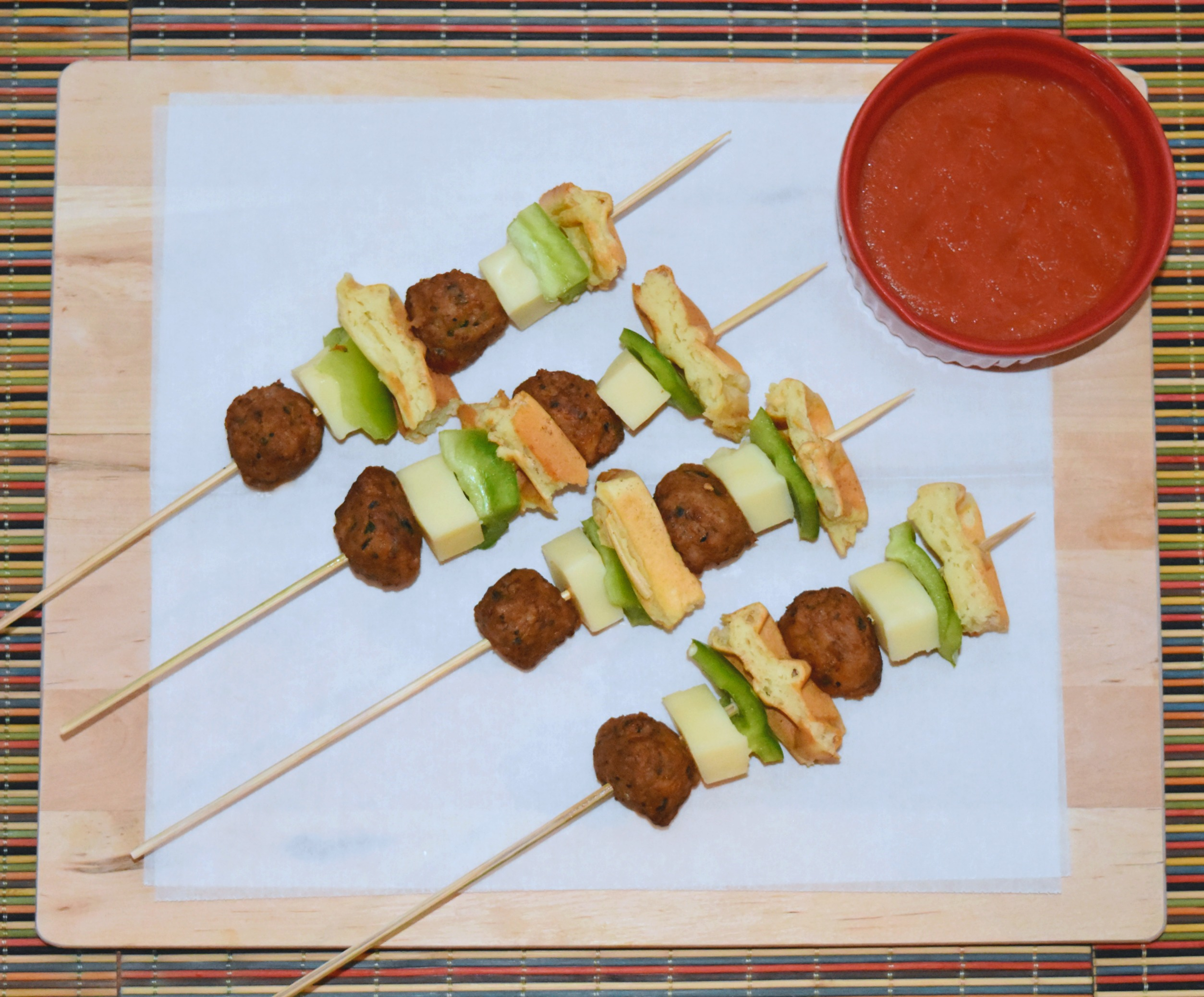 aidells meatball skewers