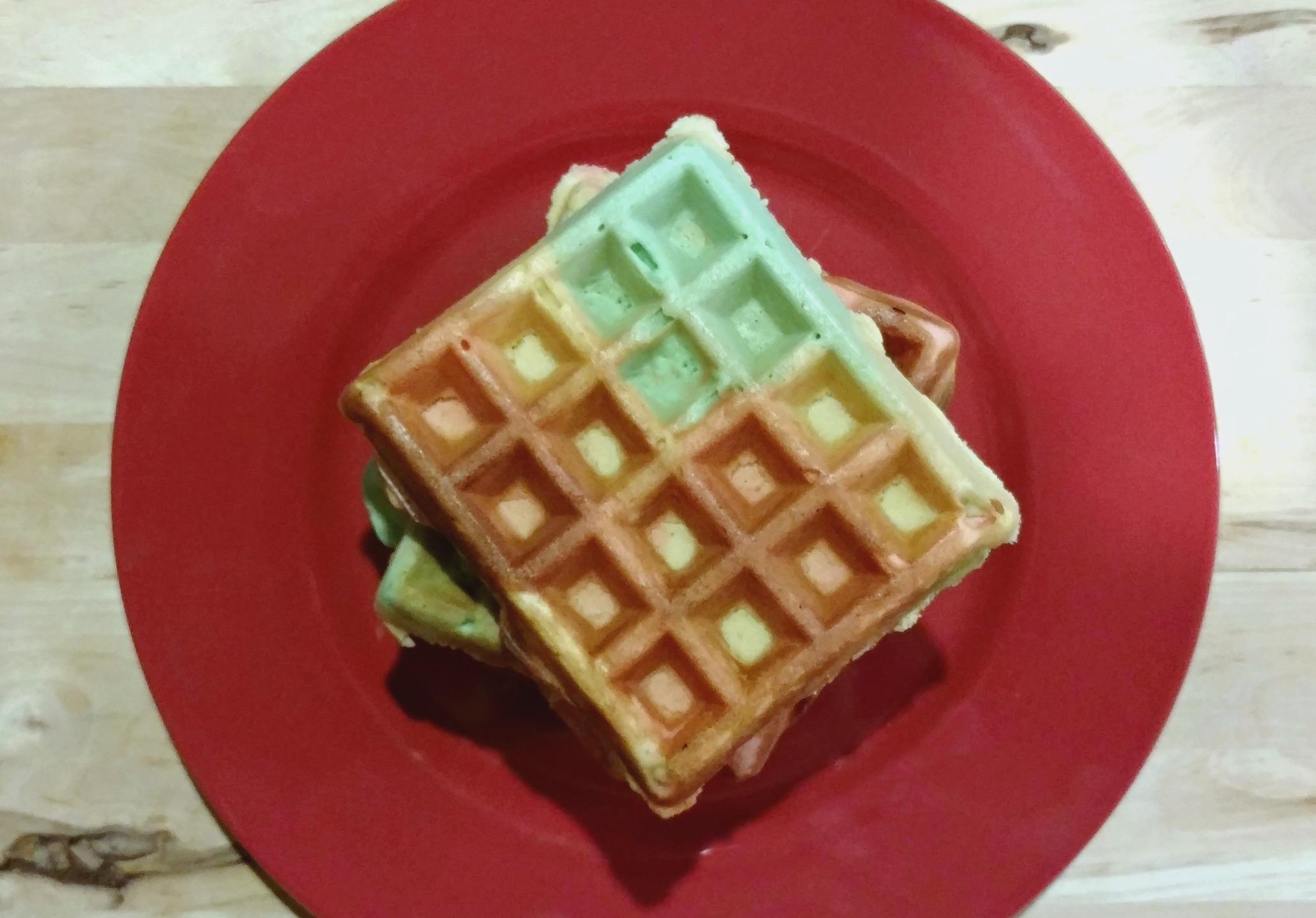 flag waffles