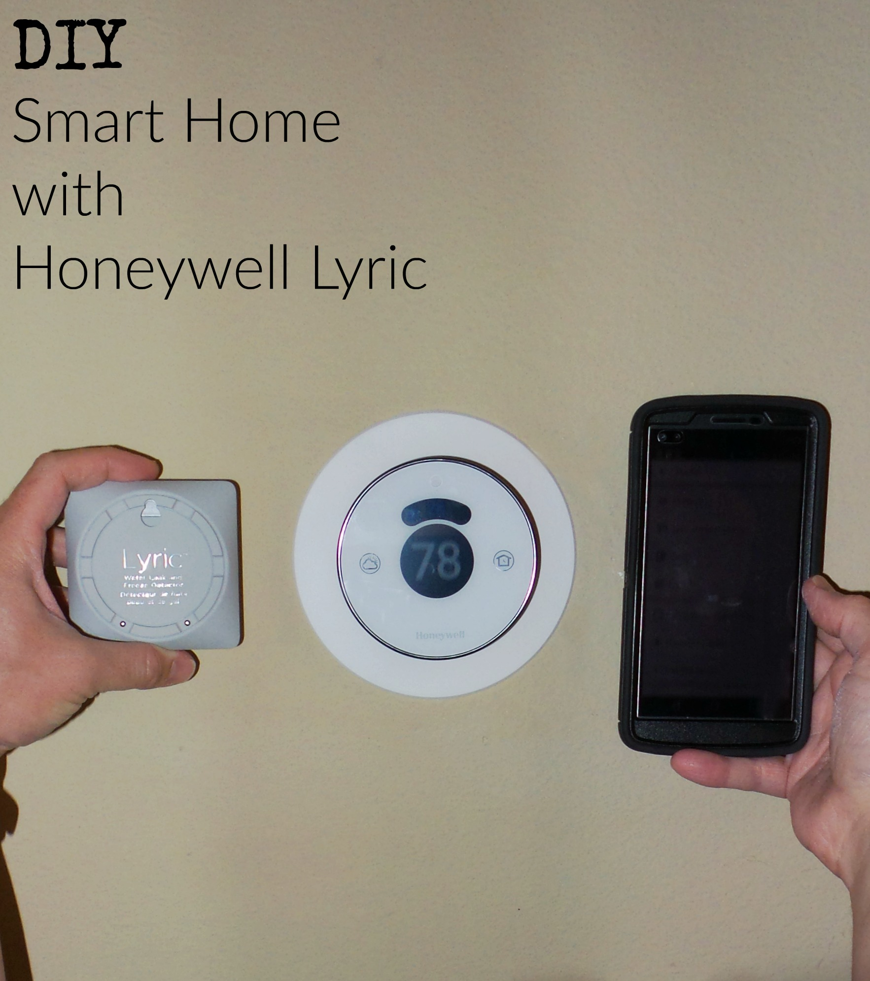 The Honeywell Lyric is a thermostat that will help you turn your house into a smart home.