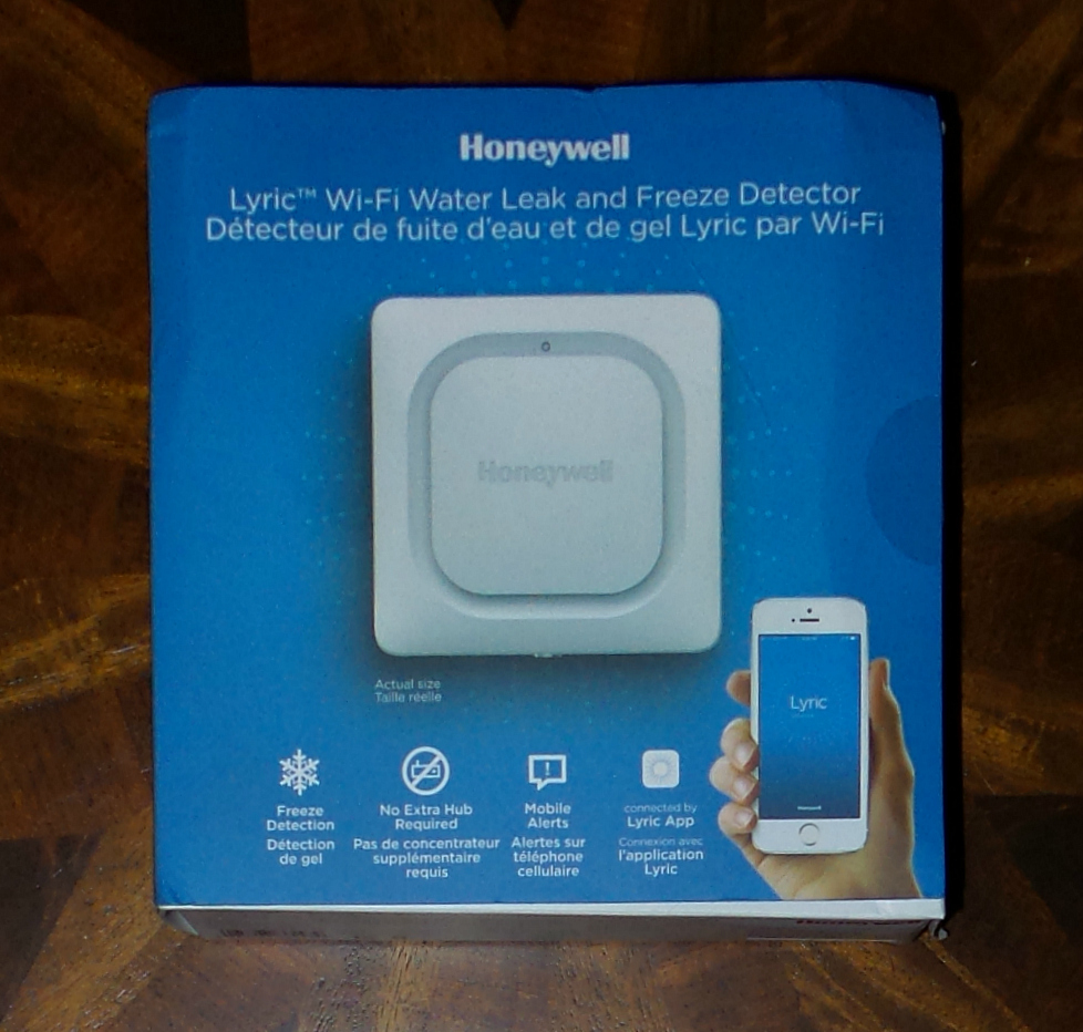 Honeywell Leak and Freeze Detector