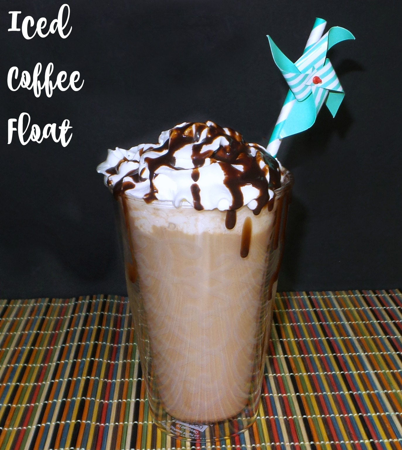 This super easy and delicious iced coffee float is a great summer beverage option.