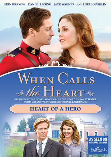 when calls the heart heart of a hero dvd