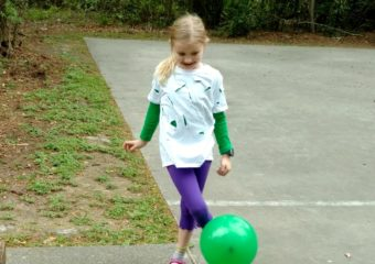 No-Sew Incredible Hulk Halloween Costume