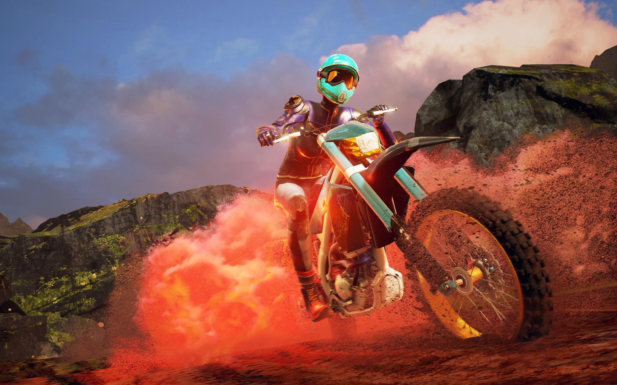 moto cross 4