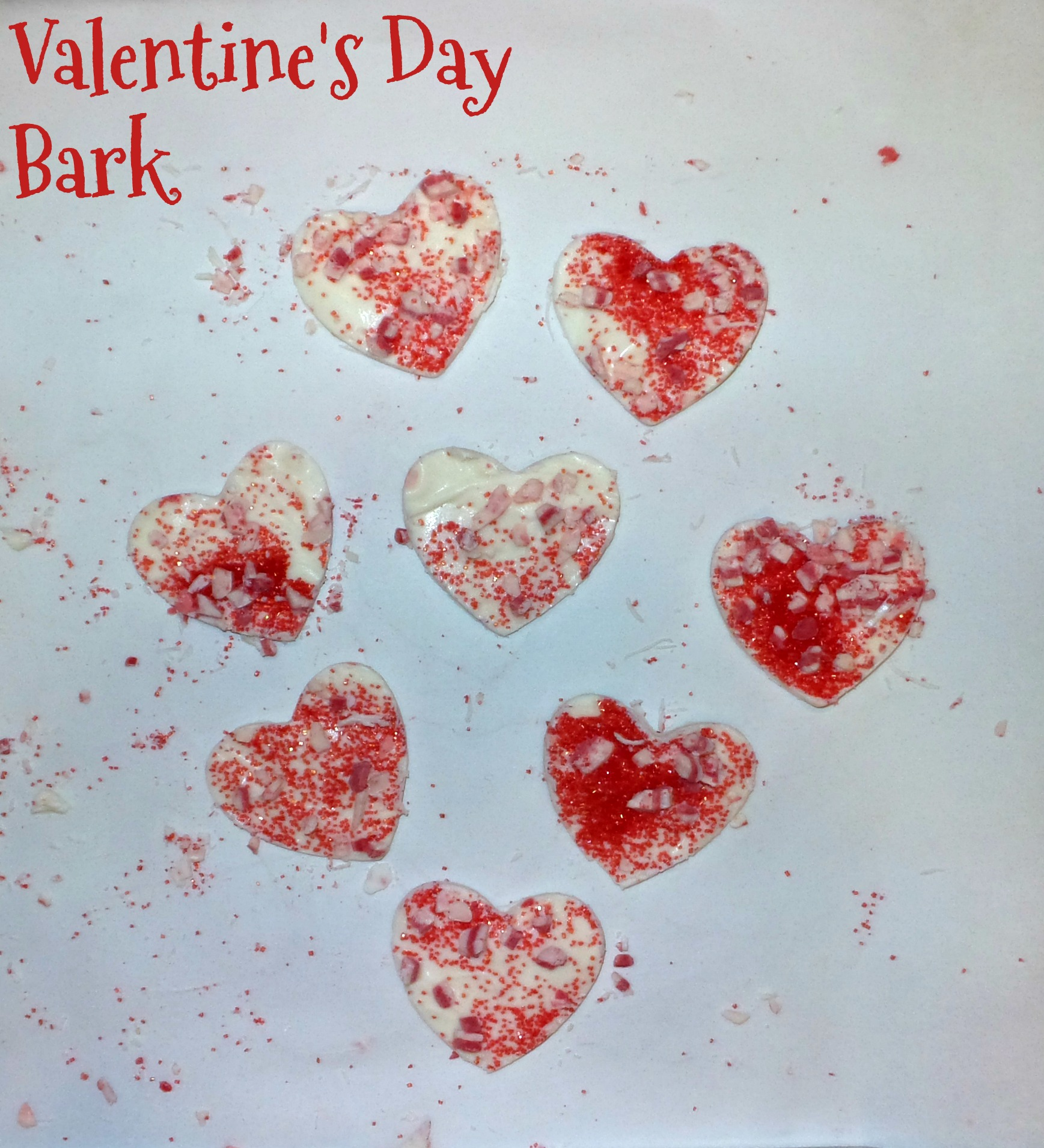 valentine's day bark pin