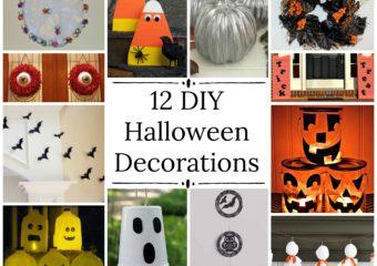 12 Easy DIY Halloween Decorations