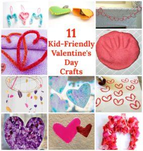 Kid-Friendly Valentine's Day Crafts