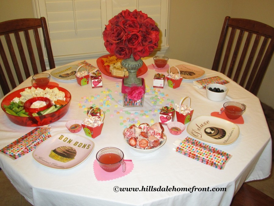Valentine 39 s day tea party for kids part 3 family fun journal for Valentines day party foods