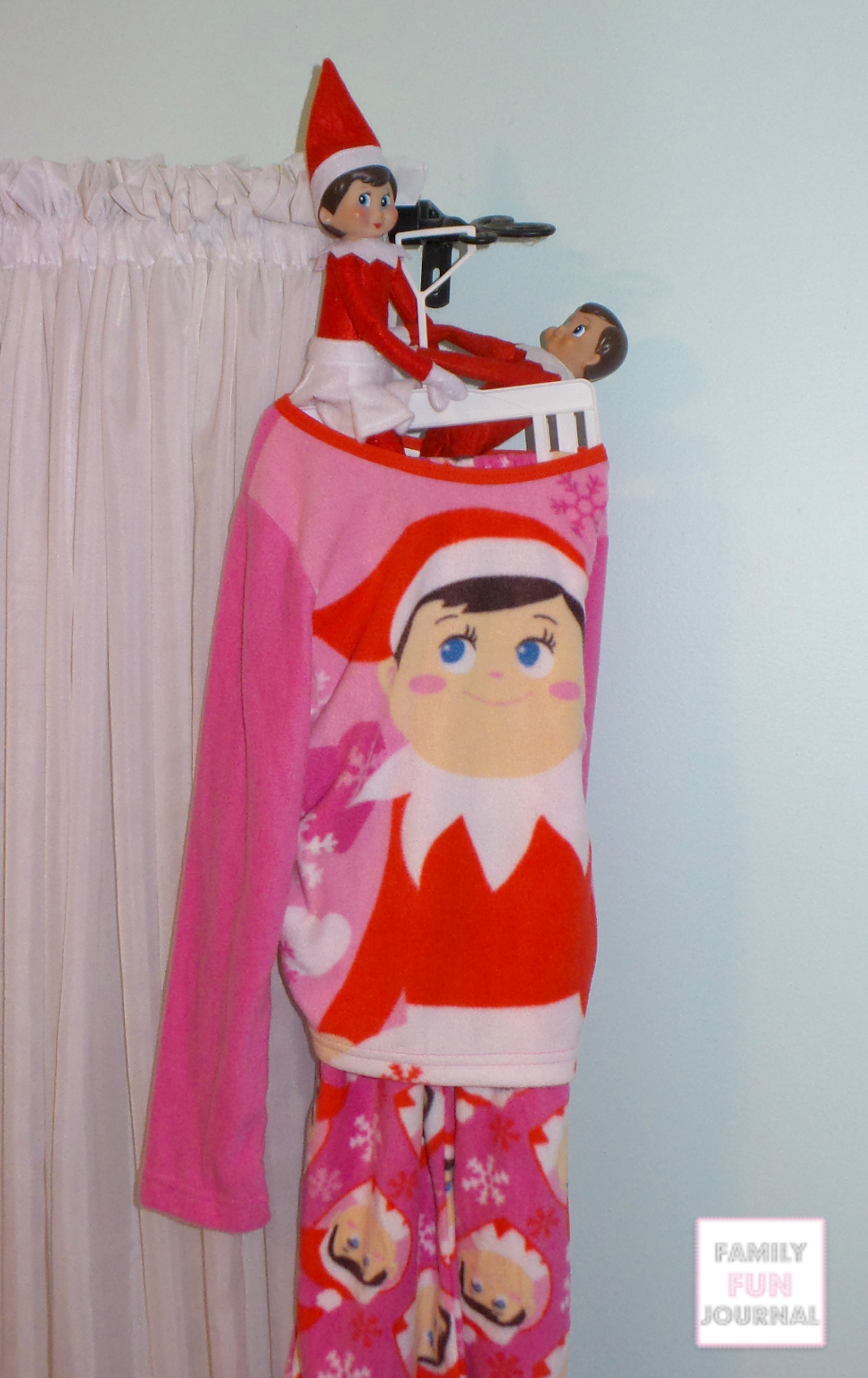 Elf On The Shelf Pajamas Family Fun Journal