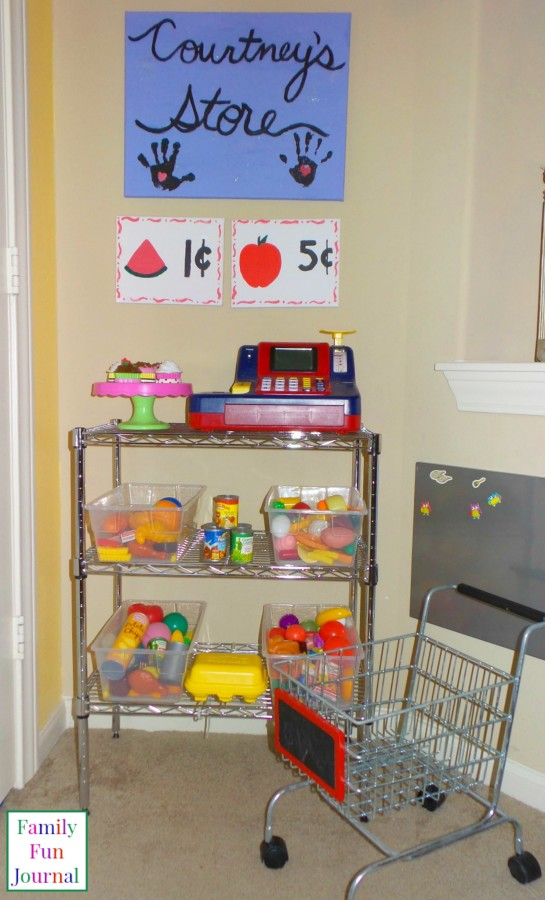 Play Grocery Store For Kids
