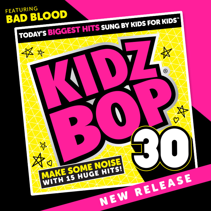 Kidz Bop 30 Family Fun Journal