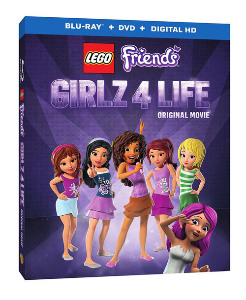 Lego Friends Girlz 4 Life Blu Ray Giveaway Family Fun Journal