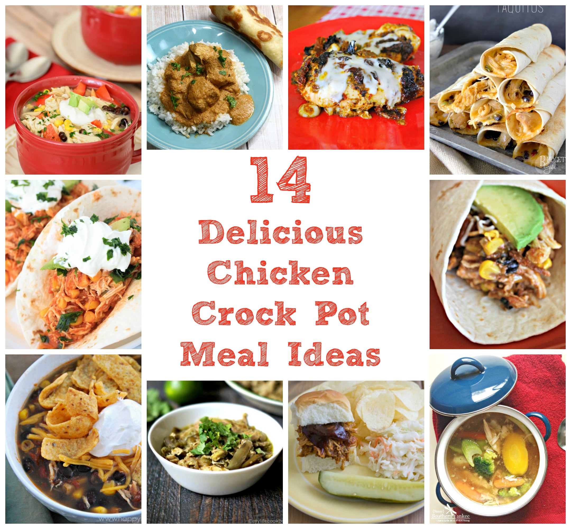 14 Chicken Recipes That Will Rock Your Crock Pot