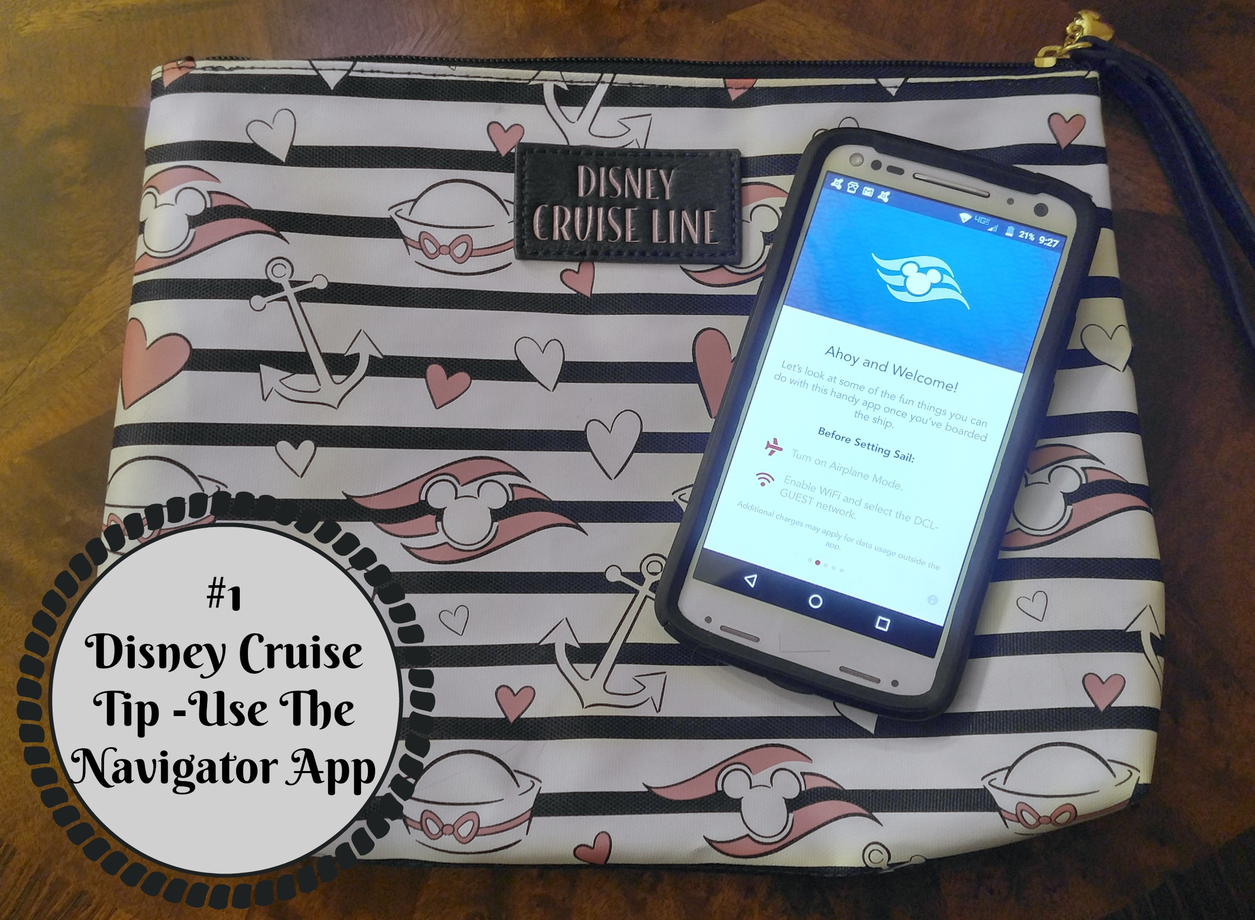 1 Disney Cruise Line Tip Use The Navigator App Family Fun Journal