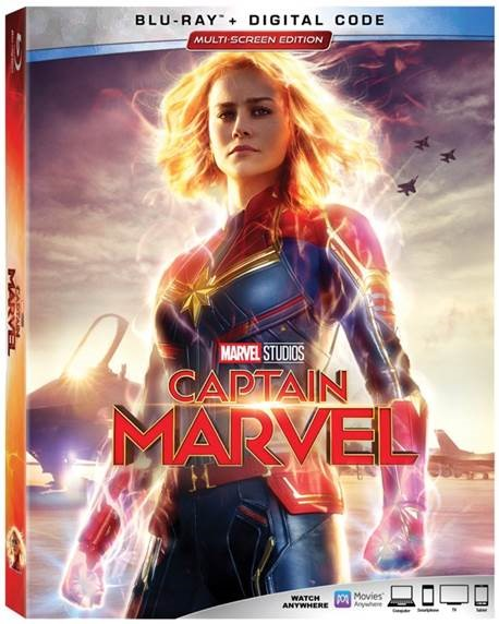 Captain Marvel Review + Printable Paper Glider